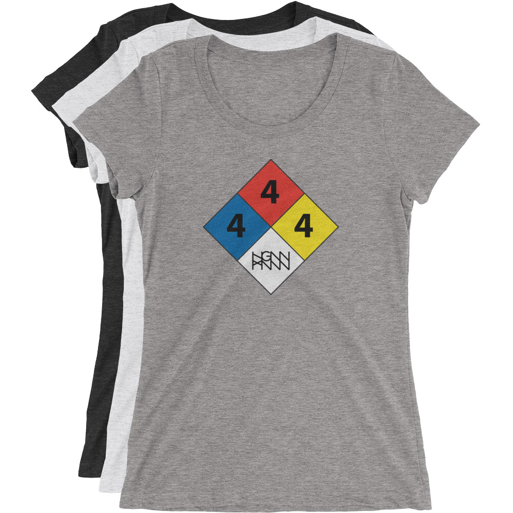 C291: HAZARDOUS MATERIAL (LADIES TEE)