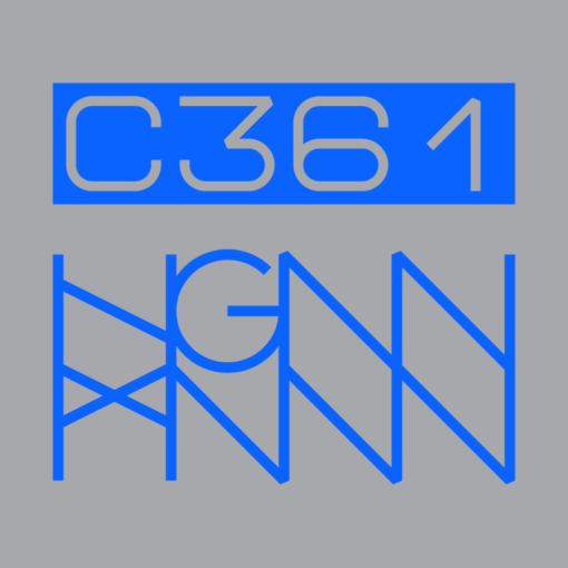 C361: DAB-DAB back logo grey