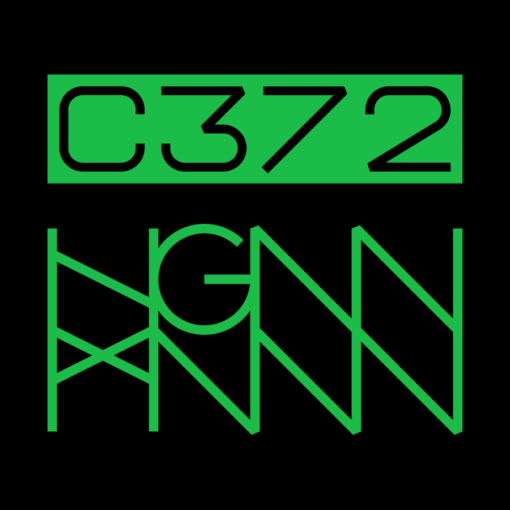 C372: COLONY back logo black