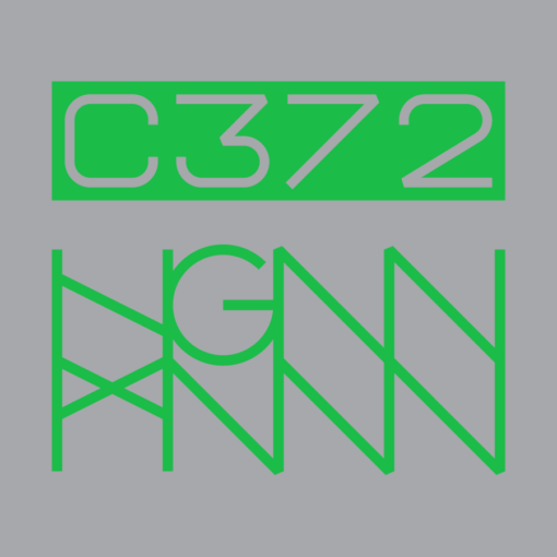 C372: COLONY back logo grey